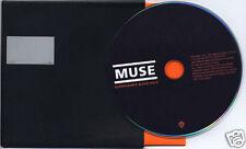 MUSE Supermassive Black Hole UK promo CD un-scratched card sleeve
