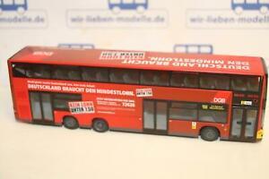 Rietze-67707-MAN-Lions-City-DL-DGB-Mindestlon-neu-OVP-Bus