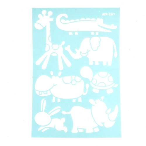Baby Animals Multi-Media Stencil 11-Inch