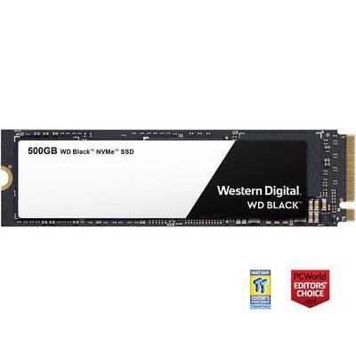 WD Black NVMe M.2 2280 500GB PCI-Express 3.0 x4 3D NAND Internal Solid State Dri