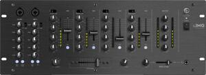 Monacor IMG STAGELINE MPX-44/SW 6-Kanal-Stereo-DJ-Mischpult Mischpulte,