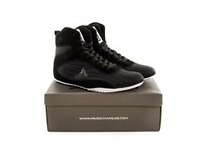 PIMD-Black-X-Core-V2-Gym-Shoes-Weight-Lifting-High-Top-Boots-Bodybuilding-Boxing