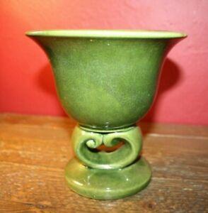 Vintage Haeger  USA #246 Green Pottery Vase/Planter