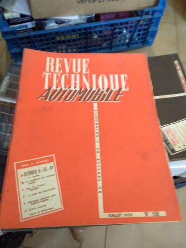 REVUE TECHNIQUE AUTOMOBILE N°159 CITROEN H HZ HY