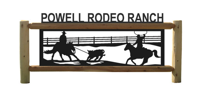 CALF  ROPING RODEO RANCH SIGN - RODEO - SADDLES- LOG SIGNS  save 60% discount and fast shipping worldwide