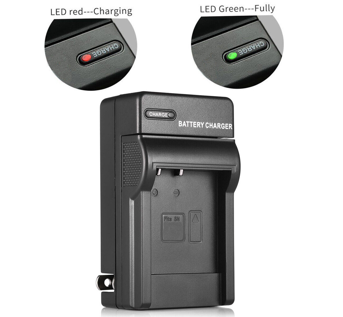 GZ-MS90U Battery Charger for JVC Everio GZ-MS90 GZ-MS101 Camcorder