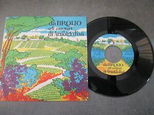 ARNOLDO FOA' - DA BROLIO GLI AUGURI DI ARNOLDO FOA' - 45GIRI 1969