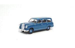 13451-Brekina-Mercedes-180-Kombi-W120-blau-1955-1-87