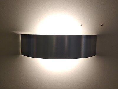 Applique curvè linea light in nickel e vetro r s w ebay