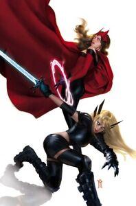 🚨🔥 STRANGE ACADEMY #11 MIGUEL MERCADO Virgin Variant Magik Scarlet Witch