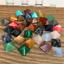 Fine-Natural-Crystal-Gemstone-Polished-Healing-Chakra-Stone-Collection-Display miniatura 11