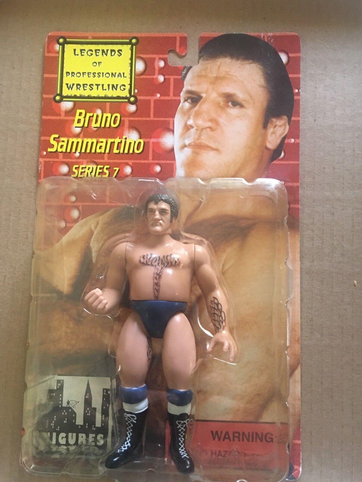 Legends of Professional Wrestling Bruno Sammartino Regular Version Series 7 NEW