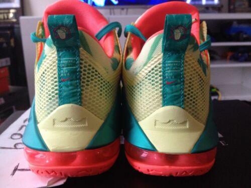 db5653ccf1c2 3 of 5 Nike LeBron XII 12 Low PRM Premium LeBronold Arnold Palmer Lime  Mango 776652-383