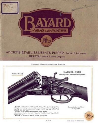 Belgian Bayard Pieper c1921 Catalog