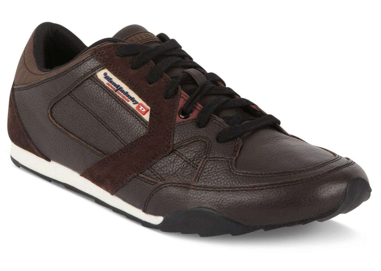 NIB Diesel Dark Brown Long Term Dynamykal Sneakers