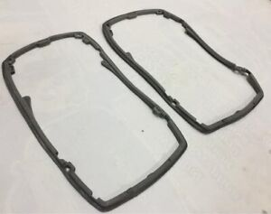 Mercedes-W114-W115-Headlight-Assembly-Rear-Weathership-Rubber-Seal-Gasket-Pair