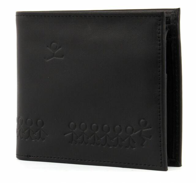 oxmox Leather Querscheinbörse Geldbörse Portemonnaie Jumping Jack