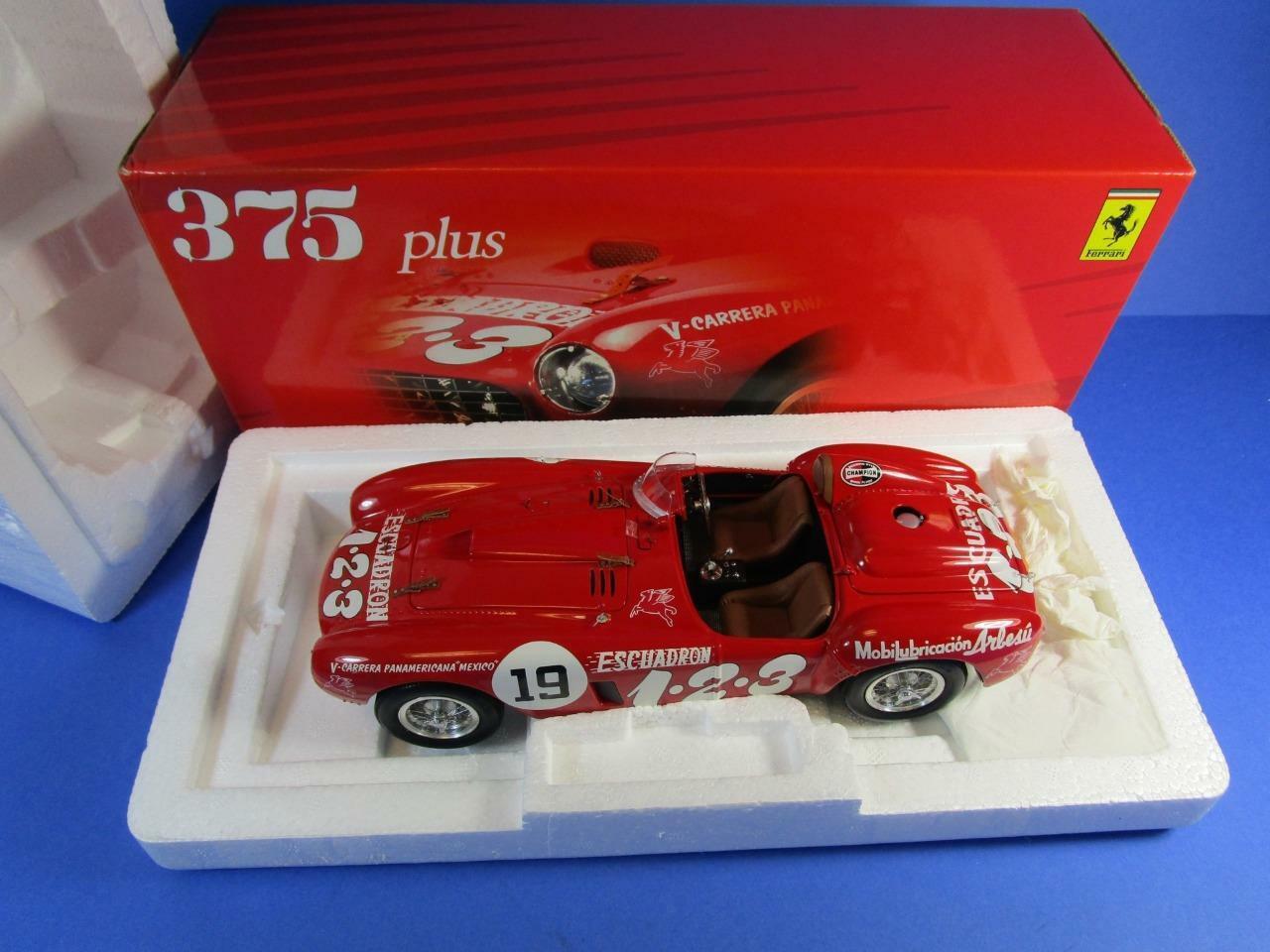 BBR modellos Ferrari 375 Plus, 118, Nuovo di zecca con scatola
