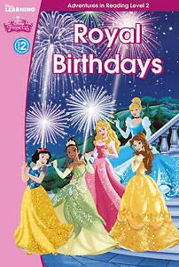 Princess-Royal-Birthdays-Level-2-Disney-Learning-Scholastic-Used-Good-Bo