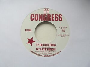 PATTI-amp-THE-EMBLEMS-It-039-s-The-Little-Things-SISSIE-HOUSTON-Bring-Him-Back-7-034