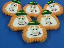 HOME MADE ICED ST PATRICKS DAY LEPRECHAUN SUGAR COOKIES by NEEDFULL THINGS