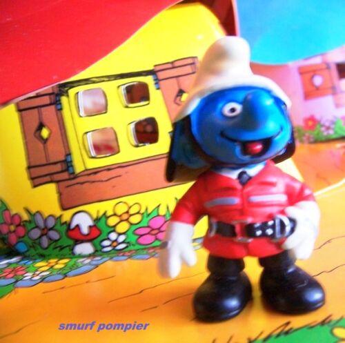 20465 fireman smurf smurf pitufo puffo puffi smurfette rare