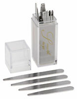36 Stainless Steel Collar Stays In Clear Plastic Box, Order The Sizes You Need
