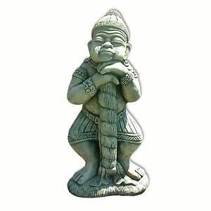 Statue, décoration jardin, Gardien de temple, Yak, importé de ...