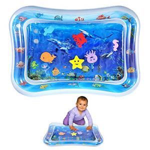 Inflatable Tummy Time Water Mat Baby Water Play Mat Sensory Toy Infants Fun Pad