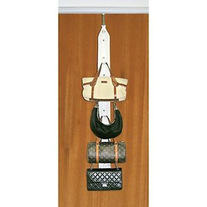 Image Is Loading Purse Holder Includes Behind Door And Closet Rod