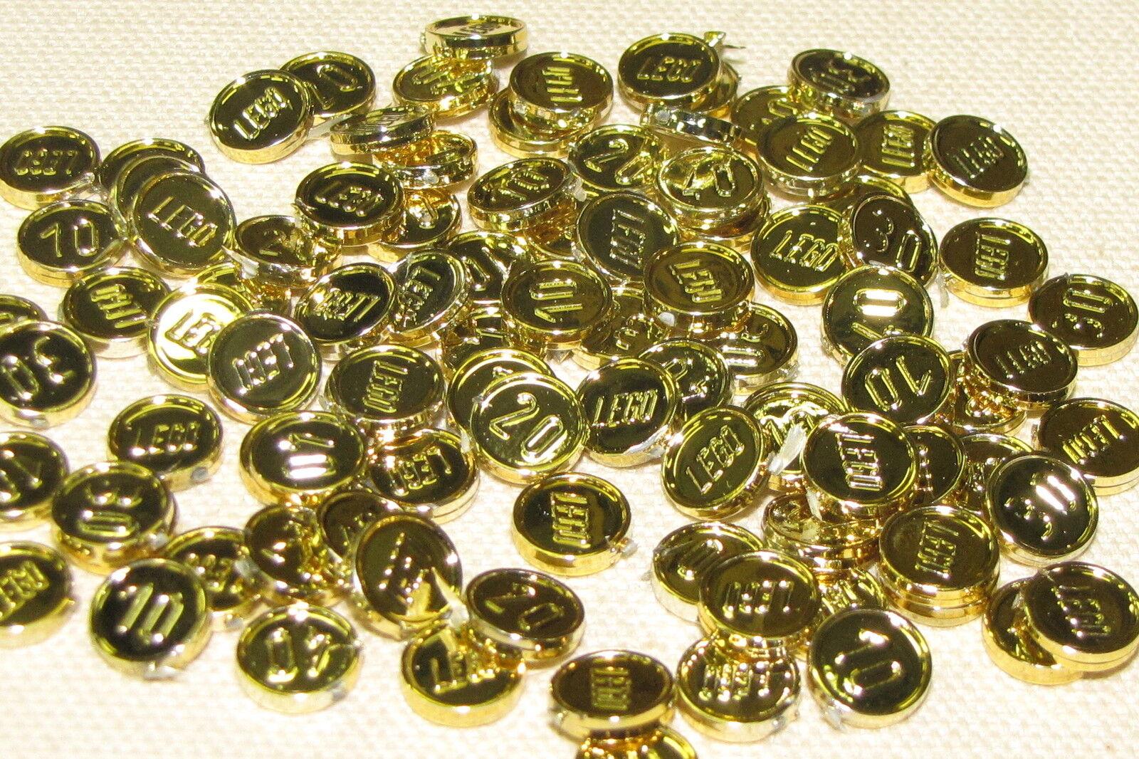Lego Lot Of 100 Neuf Rare Pirate Chrome Doré Pieces Trésor Pièces