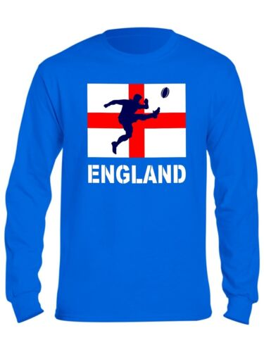 Kids England Rugby T Shirt 6 Nations World Cup St Georges Flag Boys Girls