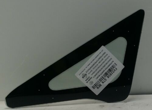Fits 06-11 Honda Civic//Acura CSX 4 Door Sedan Driver//Left Side Front Vent Glass