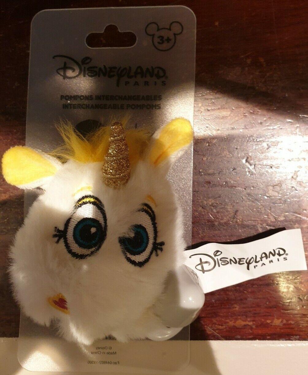 E20 Pom Interchangeable Button Golden/Buttercup Disneyland Paris
