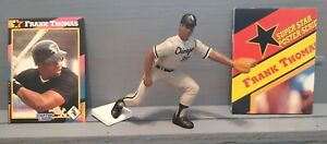 FRANK THOMAS 1992 STARTING LINEUP LOOSE WHITE SOX  + CARD/POSTER