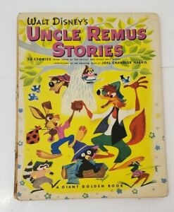 Vintage 1947 Uncle Remus Stories Song Of The South Walt Disney 1st Printing Rare