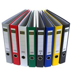 MIDORI Ordner DIN A4 PP Kunststoff oder Papier Aktenordner Ringordner 5 cm