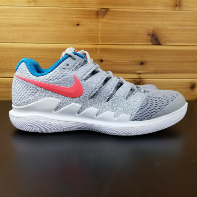 Nike Womens Air Zoom Vapor Tennis Federer X HC Wolf White AA8027-064 Size 11.5