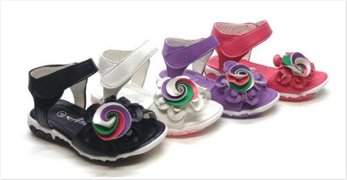 New Toddler//Kids Girls Flower Strap Gladiator Sandal Size 4 ~ 13