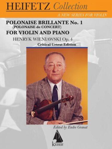 1 Polonaise de Concert Op Polonaise Brillante No 4 Violin and Piano  000141930