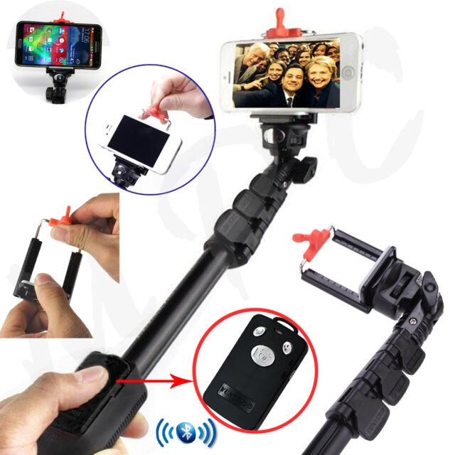 Galaxy S9 Plus Heavy Duty Selfie Stick Monopod + Rechargeable Bluetooth Remote