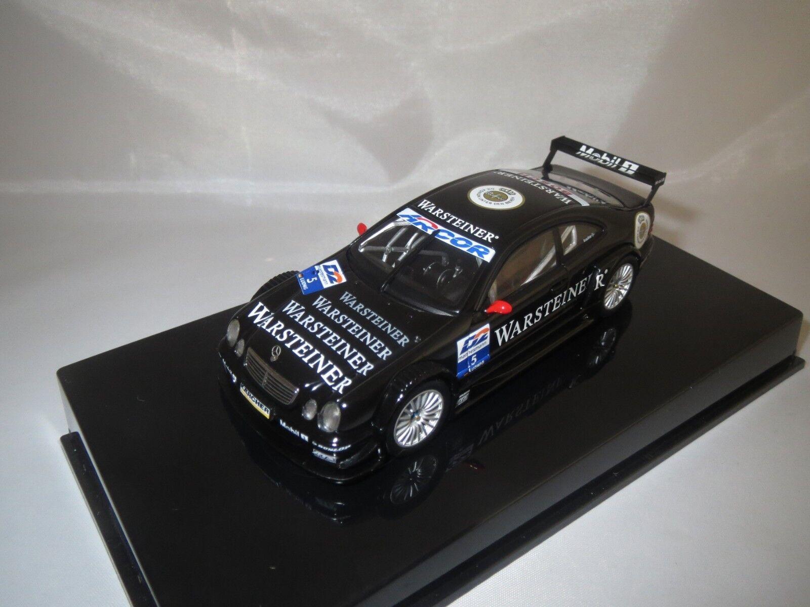 Autoart Mercedes-Benz CLK-DTM AMG  Ludwig  5  (Noir) 1 43 en vitrine