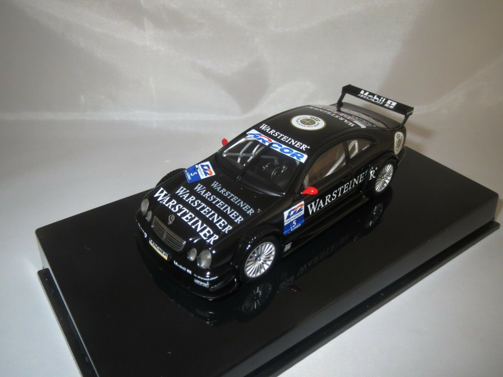 Autoart MERCEDES-BENZ CLK-DTM AMG  Ludwig  5  (Nero) 1 43 in vetrina