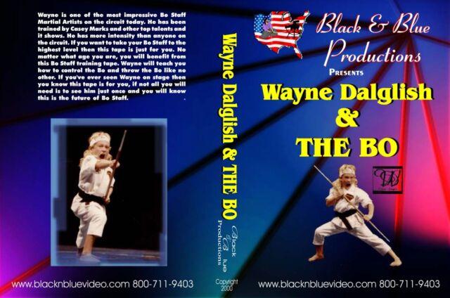 Wayne Dalglish And The Bo Staff Techniques Basic to Advances Instructional DVD