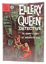 1961 ELLERY QUEEN DETECTIVE Dell FC #1165 Comic Book TV Show MUMMY'S CURSE