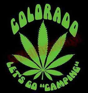 Marijuana-Leaf-Lets-Go-Camping-Colorado-Vinyl-Decal-Sticker-Window-Glass