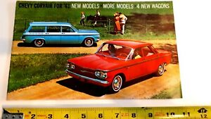 1961-CHEVROLET-CORVAIR-Original-Sales-Brochure-Very-Good-Condition-CDN