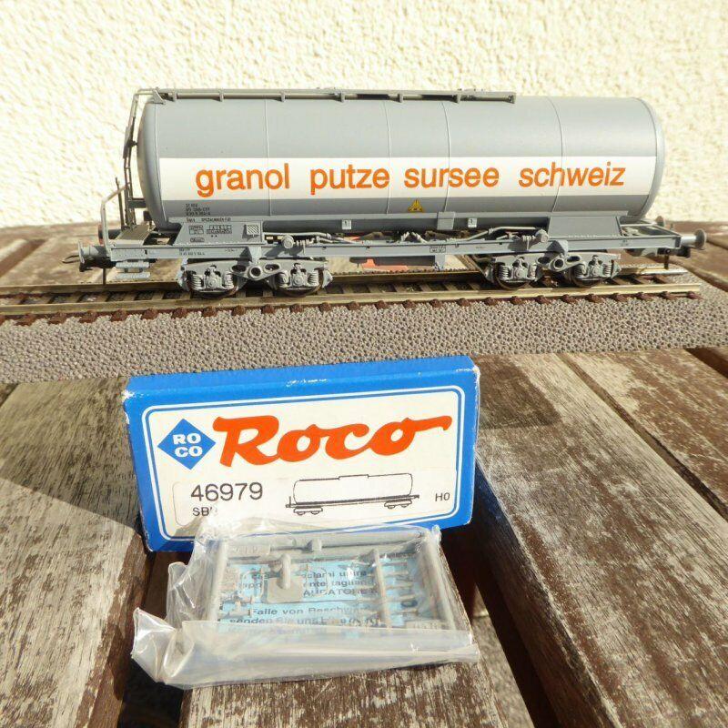 Roco 46979 H0 Vagone Cisterna Uacs Granol Putze Sursee Svizzera il SBB Epoca 46