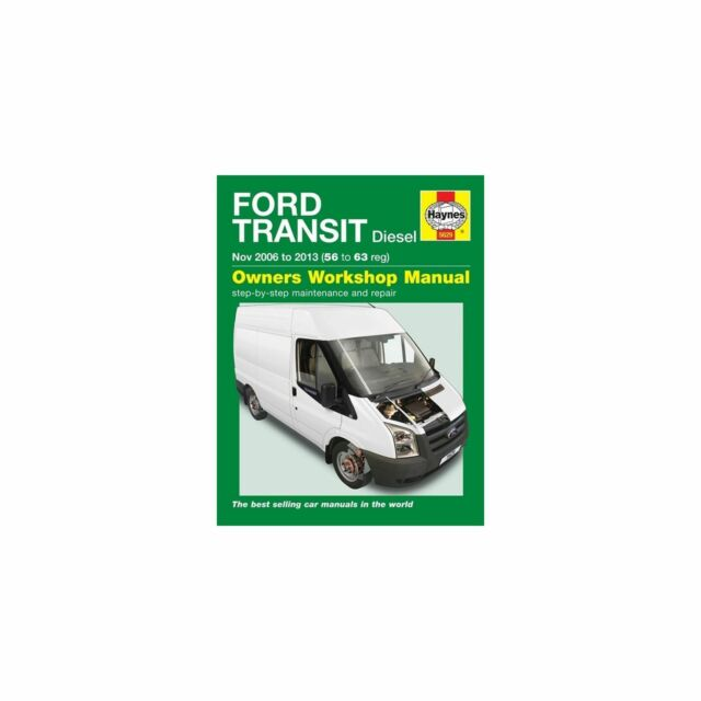 ford transit diesel owner s workshop manual 2006 2013 by john s rh ebay co uk Ford Transit Connect ford transit diesel owners workshop manual download