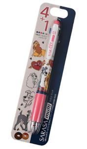 Disney Lady and the Tramp Sarasa Multi 0.5 MOCO MOCO Japan import NEW